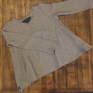 RL polo grey thermal a-line top size S 7 EUC